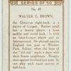 Walter G. Brown