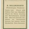 R. Hollingsworth.