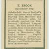 E. Brook.