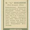 "W. ""G."" Richardson."