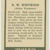 R.W. Westwood.