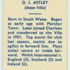 D.J. Astley.