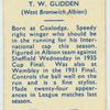 T.W. Glidden.