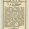 C. J. H. Tolley.