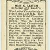 Miss C. Leitch.