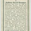 Aubrey Basil Bommer.