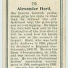 Alexander Herd.