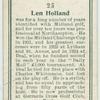 Len Holland.
