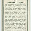 Herbert C. Jolly.