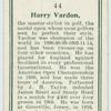 Harry Vardon.