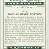 Thomas Henry Cotton.