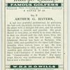 Arthur G. Havers.