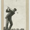 James Braid. Top of swing in the drive.