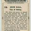 John Ball. Top of swing.