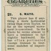 C. Mayo.