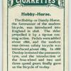 Hobby-horse.