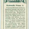 Hydraulic press 2.