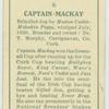 Captain Mackay.