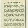"""Ard Patrick""."