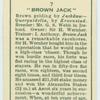 """""""Brown Jack""""."""