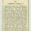 """""""Pretty Polly""""."""