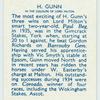 H. Gunn.