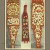 Quenouille en bois peint ornée d'oiseaux, [...]