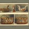 Gobelets, boîtes ornementales en formes d'oiseaux; [...]