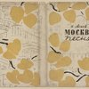 Aseev, Nikolai Nikolaevich. Moskva. Pesnia. [Moscow. A Song.] Moscow: Moskovskoe Tovarishchestvo Pisatelei, 1933.