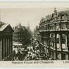 Mansion House and Cheapside London.
