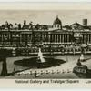 National Gallery and Trafalgar Square.