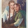 The adventures of Robin Hood. Errol Flynn as Robin Hood. Olivia de Haviland as Maid Marian.