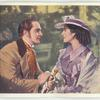 The Barretts of Wimpole Street. Norma Shearer as Elizabeth Barrett. Frederic March as Robert Browning.