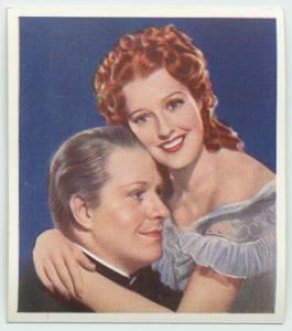 The girl of the golden West. Jeanette MacDonald as Mary Robbins. Nelson Eddy as Ramerez.