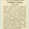 Lambert Simnel.