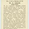W. G. Grace.