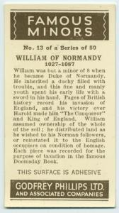 Willaim of Normandy.
