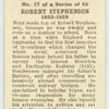 Robert Stephenson.
