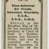 Vice-Admiral Sir Fredk. Doveton STurdee, K.C.B., C.V.O., C.M.G.