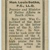 Gen. Rt. Hon. Louis botha, P.C., LL.D.