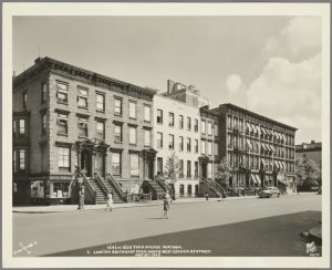 1646-1650 York Avenue - East 87th Street (looking southeast)
