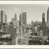 General View - Manhattan - Aerial view - Park Avenue - looking north