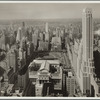General View - Manhattan - Aerial view - 42nd Street - Fifth Avenue - looking west