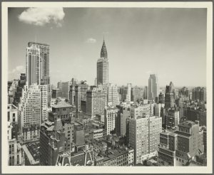 General View - Manhattan - Aerial view - Midtown looking southeast