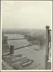 General View - Aerial view - Rivers - East River - looking east from Cities Service Building
