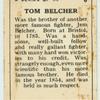 Tom Belcher.