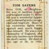 Tom Sayers.