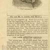 [Abraham Lincoln II.]