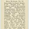 Mick McAdam.