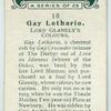 Gay Lothario.